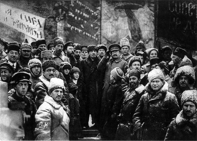 October Revolution File19191107lenin second anniversary october revolution moscowjpg