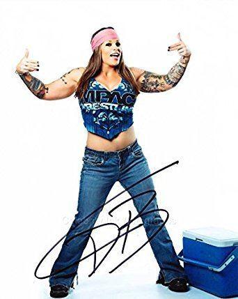 ODB (wrestler) ODB aka Jessie Kresa TNA Wrestler GENUINE AUTOGRAPH at