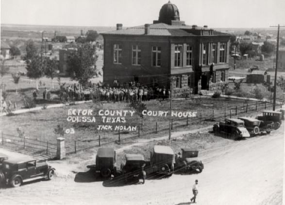 Odessa, Texas in the past, History of Odessa, Texas