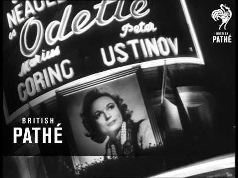 Odette (film) Premiere Of Odette 1950 YouTube