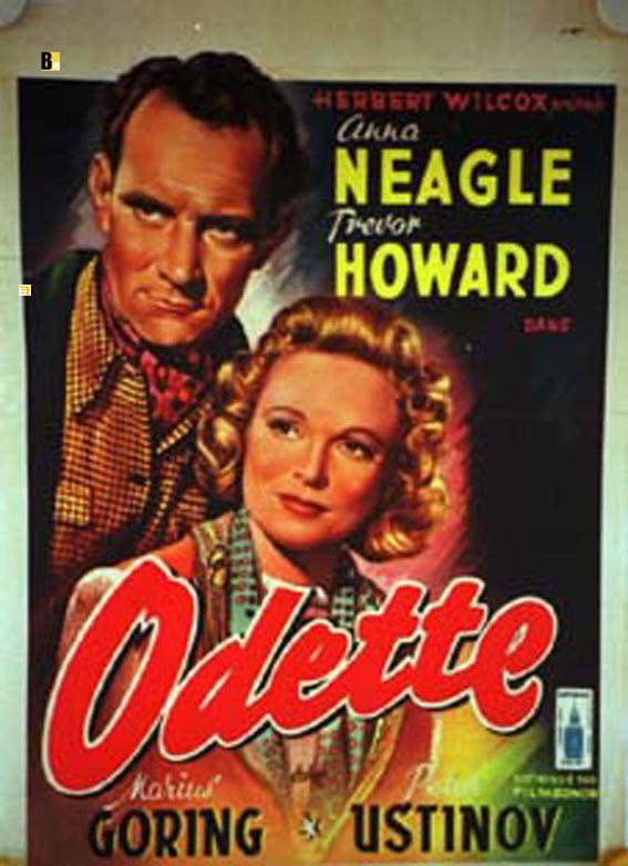 Odette (film) ODETTE MOVIE POSTER ODETTE MOVIE POSTER