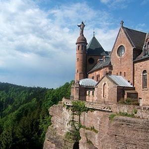Odile of Alsace Mont SainteOdile Tourisme Obernai