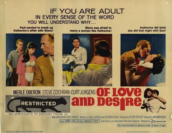 Of Love and Desire Of Love and Desire Movie Posters From Movie Poster Shop
