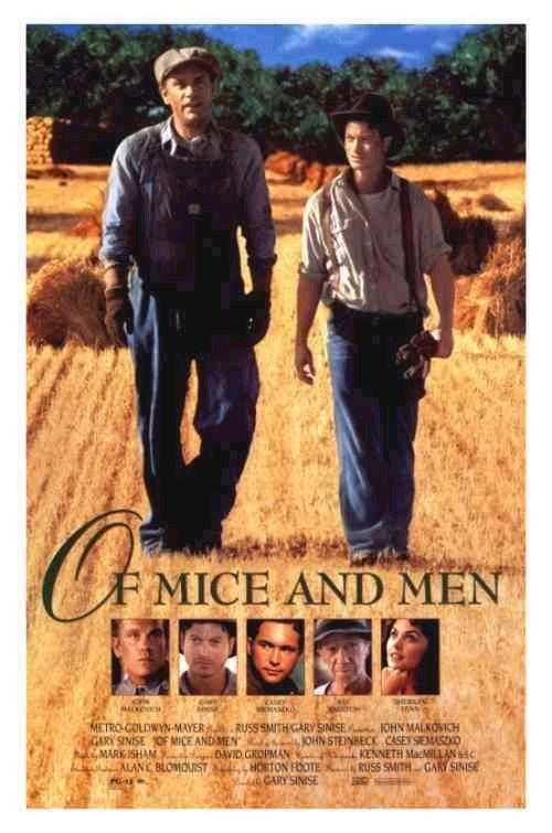 Of Mice and Men (1992 film) Old vs New Of Mice and Men 1939 vs Of Mice and Men 1992