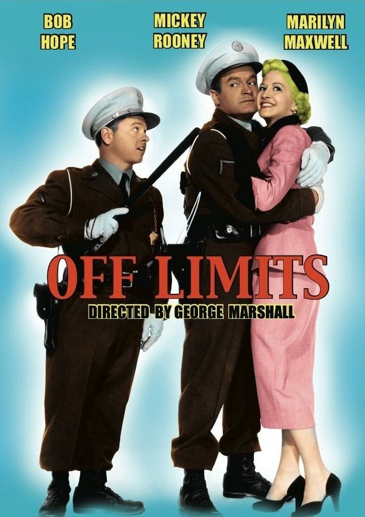 Off Limits (1953 film) Bob Hope Mickey Rooney in OFF LIMITS 1953 THE METAL MISFIT