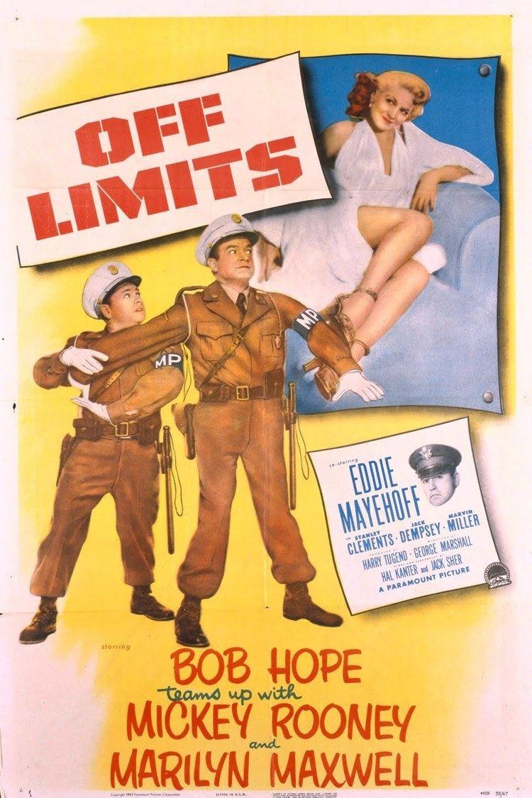 Off Limits (1953 film) wwwgstaticcomtvthumbmovieposters1606p1606p