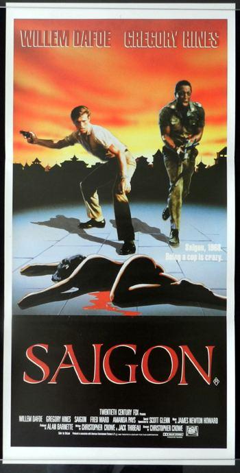 Off Limits (1988 film) OFF LIMITS aka SAIGON Hines Dafoe VIETNAM Rare Daybill Movie poster