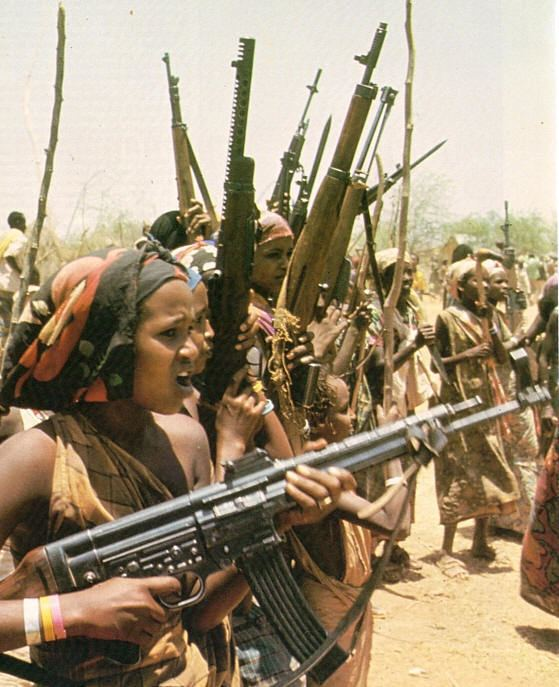 Ogaden War One of the more famous photos of the Ogaden war this picture shows