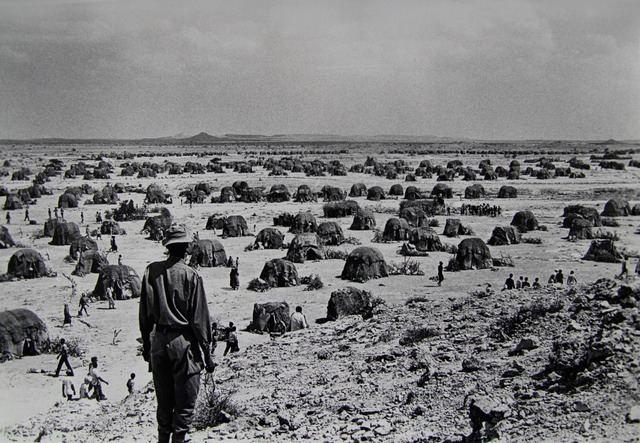 Ogaden War Somalia Refugee camps during the Ogaden War 1977 George McBean