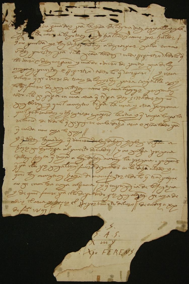 O'Gorman Columbian manuscript