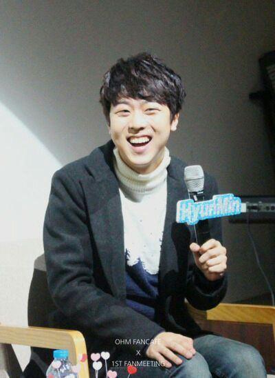 Oh Hyun-min Woollim Entertainment Artist Profile Oh Hyun Min Wattpad