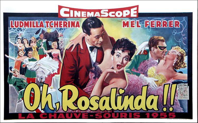 Oh... Rosalinda!! Oh Rosalinda Soundtrack details SoundtrackCollectorcom