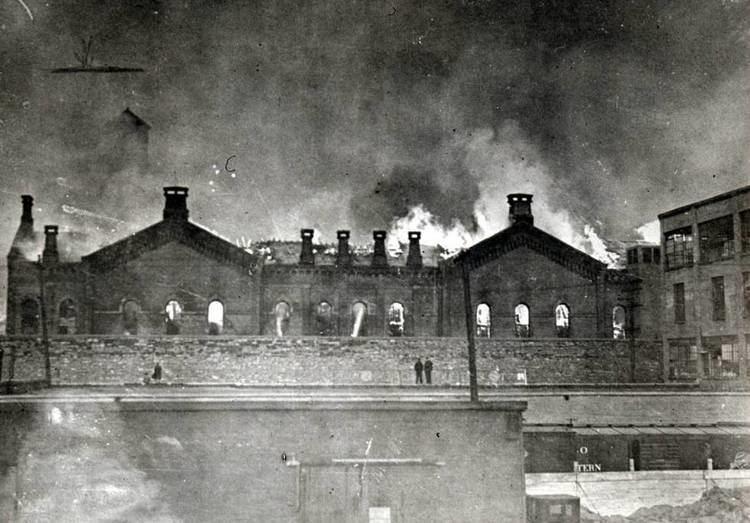 Ohio Penitentiary Fire at the Ohio Pen