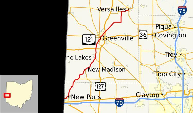 New Paris Ohio Map.Ohio State Route 121 Alchetron The Free Social Encyclopedia
