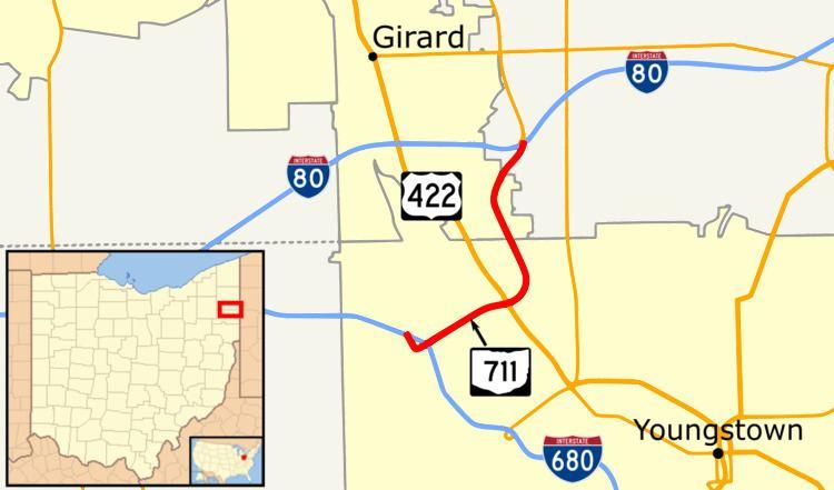 I 80 Ohio Map.Ohio State Route 711 Alchetron The Free Social Encyclopedia