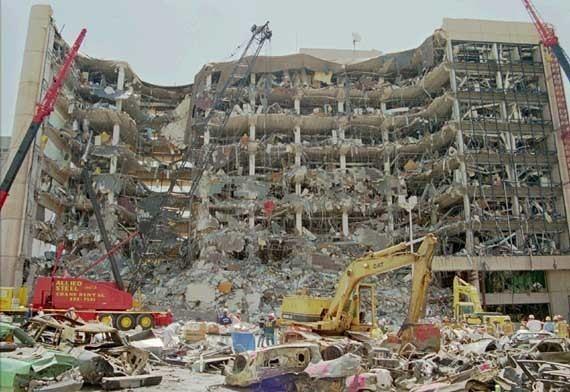 Oklahoma City bombing Oklahoma City bombing terrorist attack Oklahoma United States