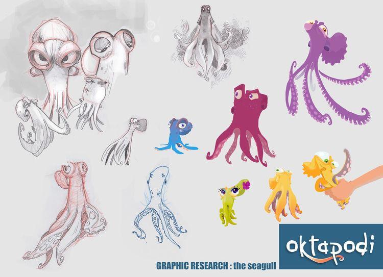 Oktapodi OKTAPODI Thierry Marchand