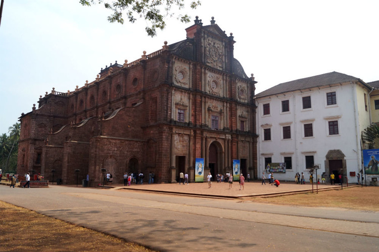 Old Goa Places To Visit Around Old Goa Old Goa Travel Guide HappyTripscom