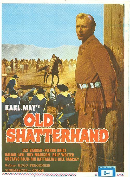 Old Shatterhand (film) Old Shatterhand movie posters at movie poster warehouse moviepostercom