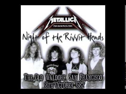 Old Waldorf Metallica live October 18 1982 Old Waldorf San Francisco CA YouTube