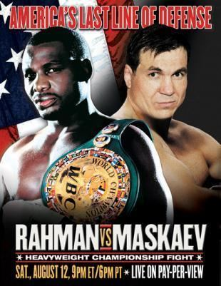 Oleg Maskaev Hasim Rahman vs Oleg Maskaev Fan scorecards EYE ON THE RING