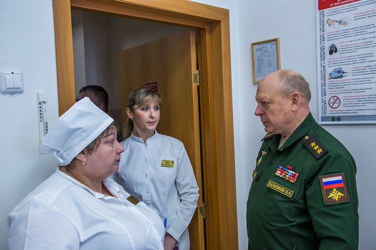 Oleg Salyukov CommanderinChief of the Russian Land Forces Colonel General Oleg