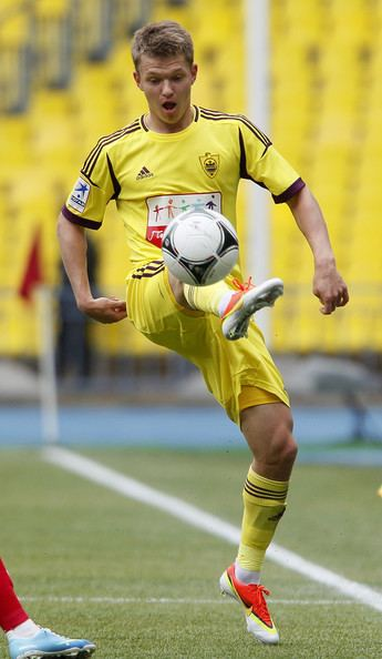 Oleg Shatov Oleg Shatov Photos FC Spartak Moskva v FC Anzhi
