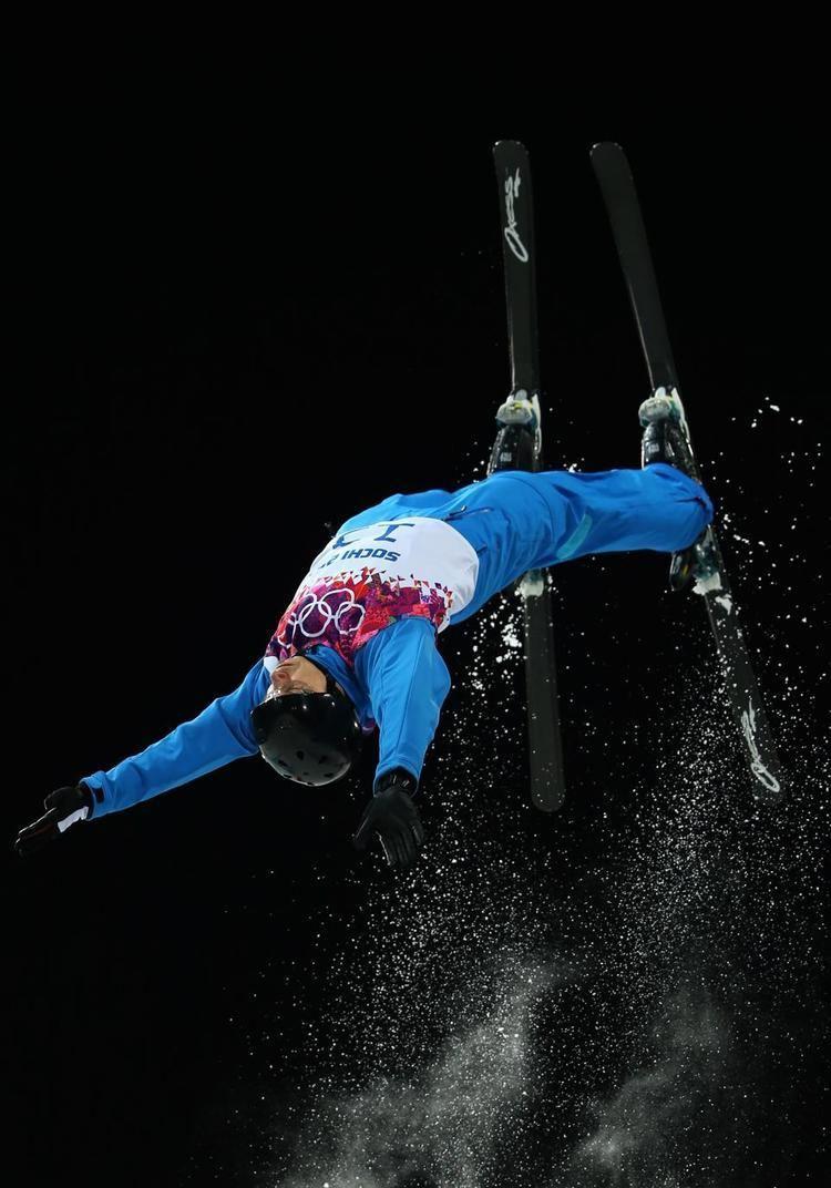 Oleksandr Abramenko DAY 11 Oleksandr Abramenko of the Ukraine competes during Freestyle