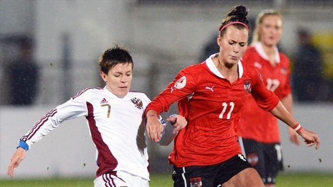 Olesya Mashina Olesya Mashina Russia Viktoria Schnaderbeck Austria UEFA