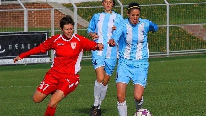 Olesya Mashina Olesya Mashina FC Rossiyanka Milena Nikoli ZFK Spartak