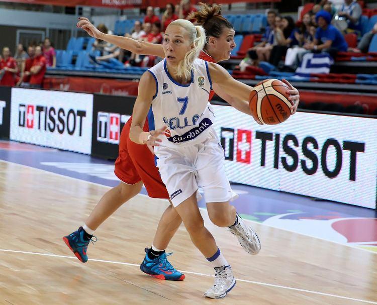 Olga Chatzinikolaou Olga Chatzinikolaou Women SuperCup 2011 FIBA Europe