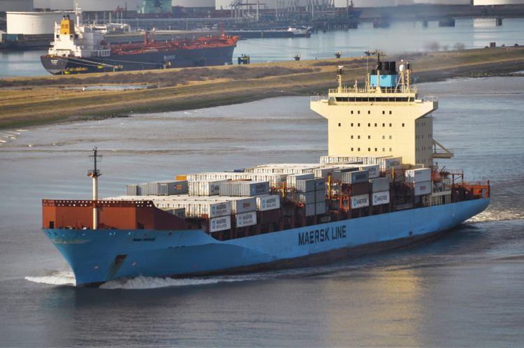 Olga Mærsk (2003) OLGA MAERSK IMO 9251614 Callsign OXBB2 ShipSpottingcom Ship
