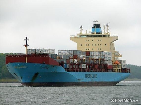 Olga Mærsk (2003) OLGA MAERSK Container ship IMO 9251614