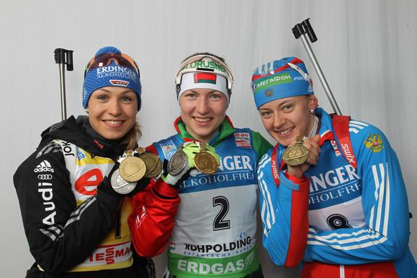 Olga Vilukhina IBU Biathlon World Championships Women39s 10km Pursuit