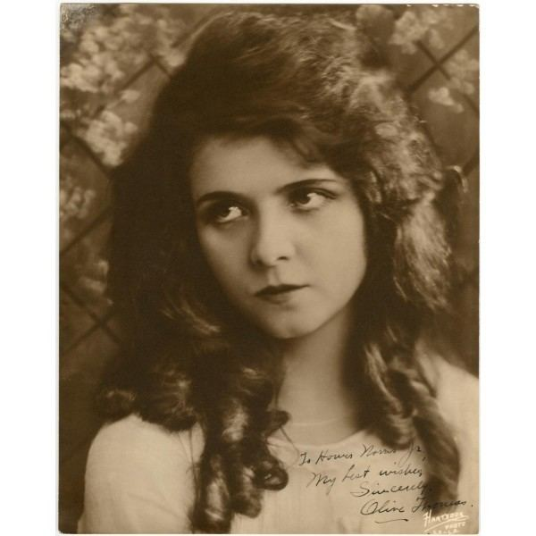 Olive Thomas Olive Thomas Autographed Photo Actress Autographs