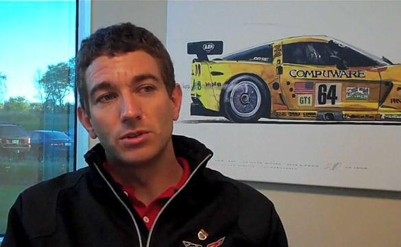 Oliver Gavin VIDEO Oliver Gavin39s Corvette Racing Season Recap