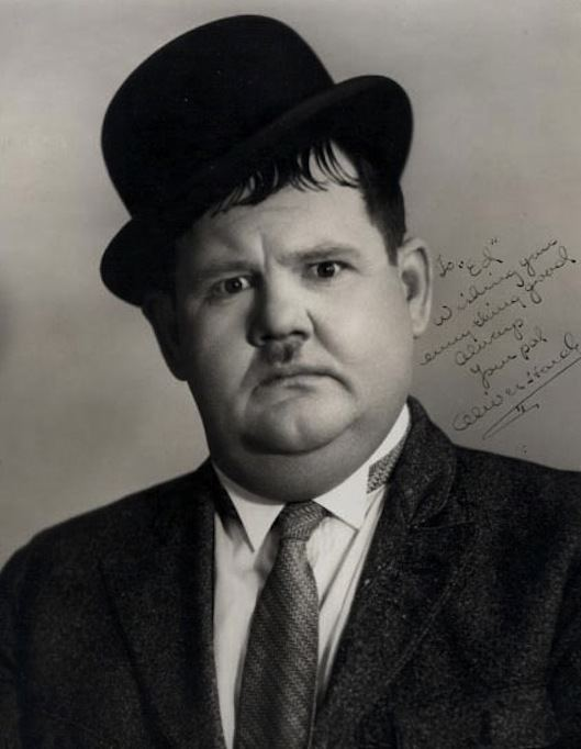 Oliver Hardy Oliver Norvell Babe Hardy was an American comic actor famous as