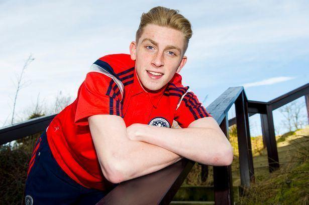 Oliver McBurnie Scotland U19 striker Oliver McBurnie I can make people