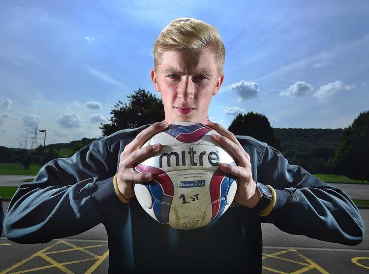 Oliver McBurnie Starstruck39 Bradford City youth team striker is Manchester