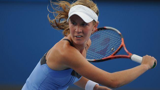 Olivia Rogowska Olivia Rogowska first local to fall at Australian Open
