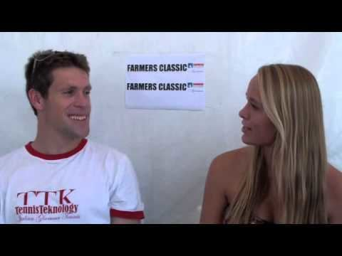 Olivier Charroin Olivier Charroin ATP at 2012 Farmers Classic interviewed by Kathy