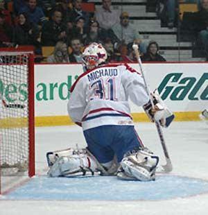 Olivier Michaud Olivier Michaud 2001 02 Montreal Canadiens Goaltenders