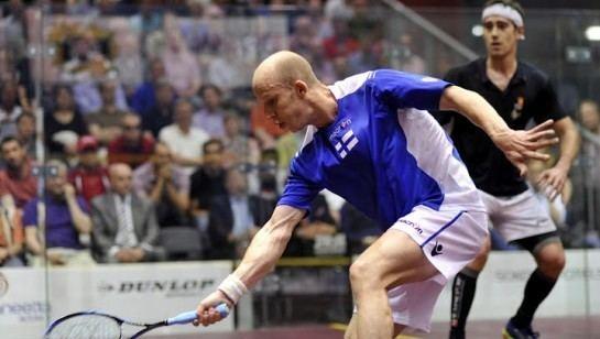 Olli Tuominen Serme and Tuominen take European titles Squash ilovesquashcom