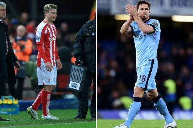 Ollie Shenton Frank Lampard39s tribute to Stoke City39s 17yearold