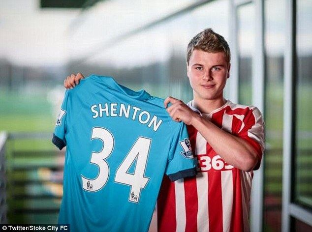 Ollie Shenton Ollie Shenton commits his longterm future to Stoke City