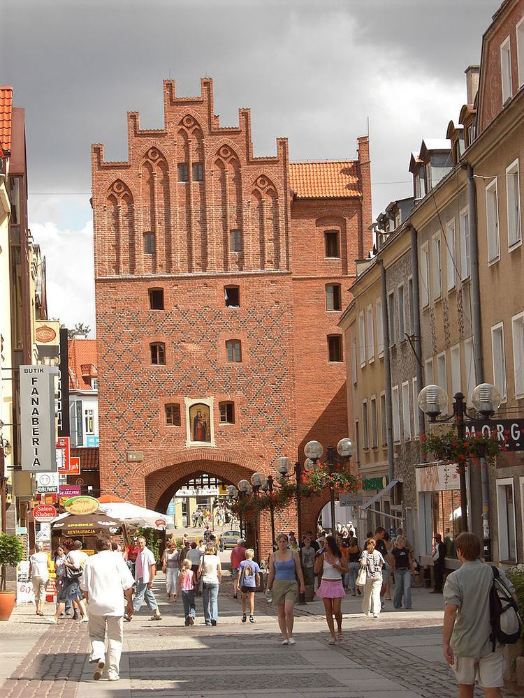 Olsztyn in the past, History of Olsztyn