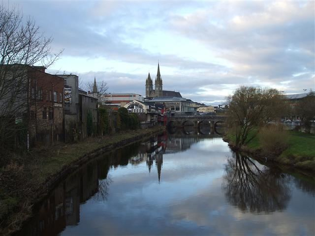 Omagh in the past, History of Omagh