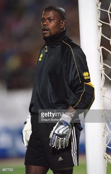 Omar Diallo Omar Diallo of Senegal in action during the FIFA World Cup 2002
