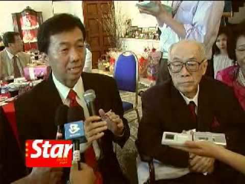 Omar Yoke Lin Ong MCA founding member Tun Omar Ong Yoke Lin39s 90th birthday