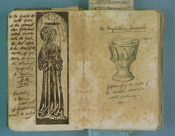 Omphalos (film) movie scenes Grail Mass Omphalos The first of these two pages contain a print of what looks like a stained glass window which is as of yet unidentified